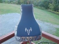 Sell Yamaha Grizzly 600 seat cover New Realtree xtra and deer skull motorcycle in Howard, Pennsylvania, United States, for US $39.99