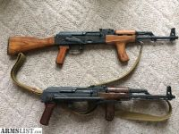 For Sale/Trade: Romanian ak47 rifle set x2