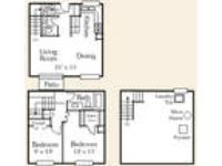 Foxcroft of Shelby - Two BR 1.5 BA / TOWNHSE / PATIO