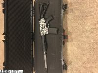 For Sale: Custom Built AR 15 BRO Black Rain Ordnance Skulls