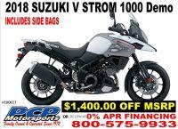 2018 Suzuki V-Strom 1000 Dual Purpose Motorcycles Sacramento, CA