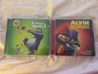 Jungle Book 2 and Chipmunks CD set