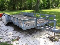 Car Hauler Flatbed Trailer