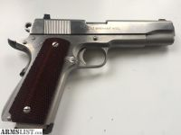 For Sale: Series 80 colt 1911 government model 45acp stainless steel