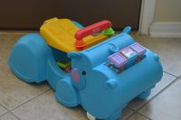Fisher Price Ride or Walk Hippo