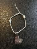 Teacher bracelet it takes a big to teach little minds - adjustable clasp 7 1/2-9 inches