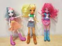 Lot Of 3 Hasbro My Little Pony EQUESTRIA GIRLS Dolls