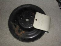 Sell 1964 GTO 389 water pump pulley W/ O power steering motorcycle in Sugar Grove, Illinois, US, for US $69.95