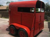 Red horse trailer w almost new ply tires