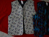Handmade And Sewn vests Various Sizes Colors Prints