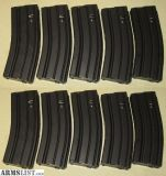 For Sale: metal/steel 30 round AR-15 magazines