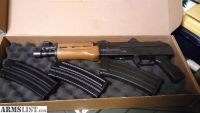For Sale: Century Arms AK pistol in 5.56x45