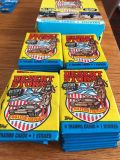 Lot if new vintage desert storm trading cards