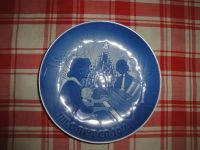 Christmas at Home collectors plate