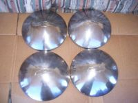 Buy CHEVY POVERTY DOG DISH MOON HUBCAPS NOVA CHEVELLE CAMARO GM SET OF 4 WILL SHIP motorcycle in Fontana, California, United States, for US $115.00