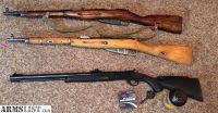 For Sale/Trade: M44, Type 53 and a Muzzleloader