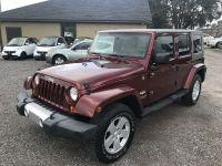 2008 Jeep Wrangler Unlimited Sahara Sport Utility 4D