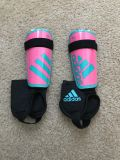 New without tags adidas youth shin guards