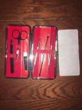 Blackheads Remover and Comedone Extractors with Tweezers & Manicure Set/Case