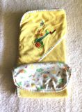 Baby towel and wash cloth unisex