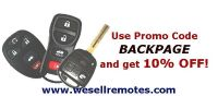 Remote Controls and Blank Keys for Cars