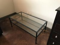 Pottery Barn Tanner Coffee Table- bronze