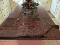 New table runner from Macy's (very long) for extended table