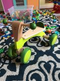 Hape scoot around wooden tricycle