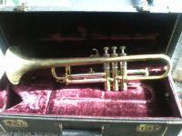 Vintage Brass Trumpet, Model 'American Knight'