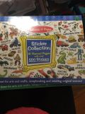 Melissa and Doug new sticker collection book