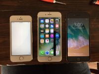 3 iPhones for sale