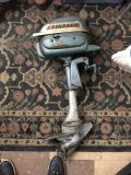 1950s Evinrude Outboard Motor