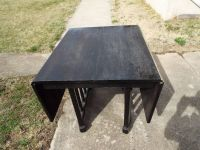 Table*Folding*Vintage*Solid Wood*Needs Re Stain*Lower Price