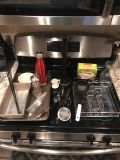 20+ Kitchen Lot Everything pictured (less the stove) & More! Sweet home brand metal recipe box