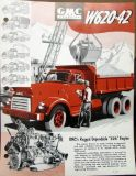 Purchase 1953 GMC Gasoline W620 - 42 Truck Tractor Sales Brochure Data Sheet Original motorcycle in Holts Summit, Missouri, United States, for US $15.00