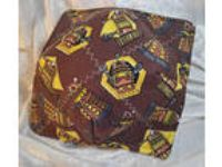 Dr Who Daleks brown & yellow Microwave bowl cozy 100% Cotton