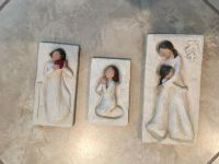 """Willow Tree """"From the Heart"""", """"Prayer"""", and """"Mother & Daughter"""" EUC"""