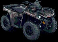 2018 Can-Am Outlander DPS 570 Utility ATVs Dickinson, ND