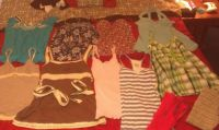 Junior girls CLOTHING SMALLmedium (Lufkin)