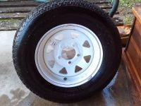 Spare Tire for Boat Trailer