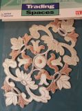 Floral Iron or Sew Applique by Trading Spaces