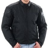 Find Texport Sportrak Leather/Nylon Riding Jacket Black size Men's Small motorcycle in Westerville, Ohio, US, for US $40.00