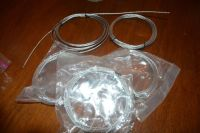 5 CABLE WIRE WITH CLAMPS