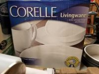 NEW IN BOX CORELLE DINNERWARE/SERVICE FOR 4