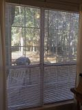 Selling two 70x70 plastic blinds