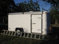 Enclosed utility trailer 6 x 12