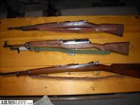 For Sale: Military Rifles