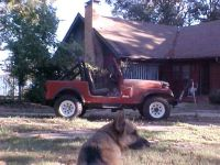 cj7 JEEP 4 CY FOUR SPEED-1983