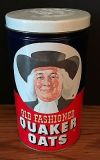 Vintage Old Fashioned Quaker Oats Tin
