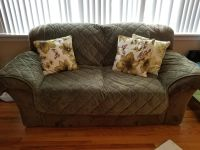 Oversized sofa and loveseat for sale